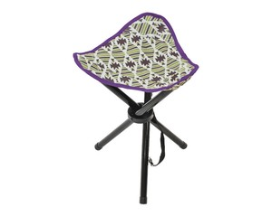 Field Triangle Stool Brown