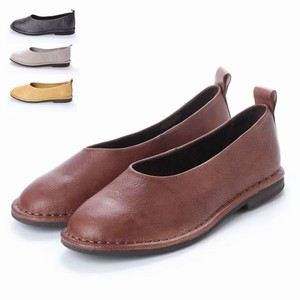 4 Colors Genuine Leather Casual Flat Shoes
