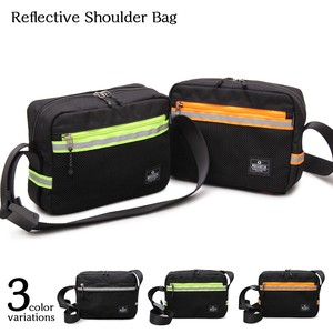 Reflector Tape Shoulder Bag Square Shoulder Bag