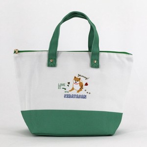 Lunch Bag Shibatasan Days Green