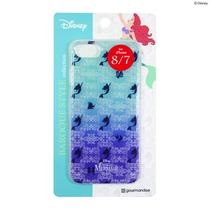 Fujimoto iPhone7 Exclusive Use Disney Character Hard Case Color Ariel