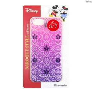 Fujimoto iPhone7 Exclusive Use Disney Character Hard Case Color Mick Minnie