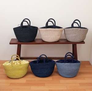 S/S Abaca Bag Pouch Attached