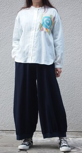 Balloon Pants Casual Natural Women's Apparel