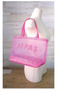Mesh Lunch Tote S/S