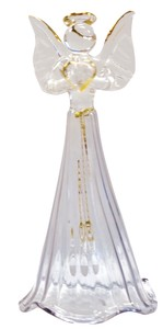 Glass Angel Objects and Ornaments Ornament