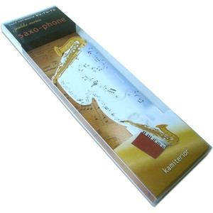 Message Assembly Music Instrument Solid Memo Pad