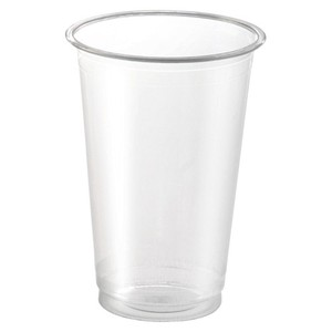 San PET Cafe Clear Cup 40 Pcs