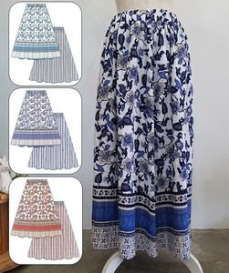 Ethnic Panel Stripe Reversible