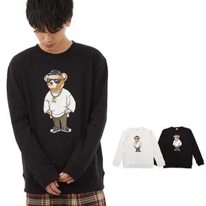 S/S Men's Original Bear Print Sweat Sweatshirt