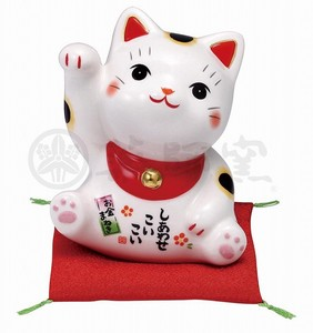 Happiness Ornament Interior Kinsai Beckoning cat
