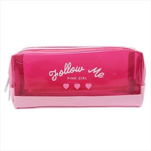 Clear Pencil Case HEART