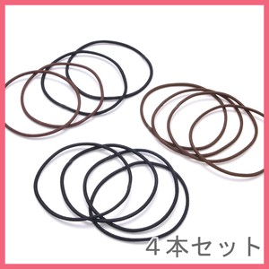 4 Pcs Set Ring Hair Elastic