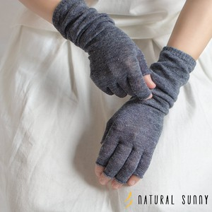 [2019NewItem] Linen Fingertip Free Arm Cover Short