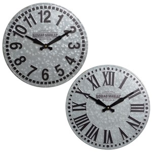 Steel Wall Hanging Product Clock/Watch Wall Clock Tile