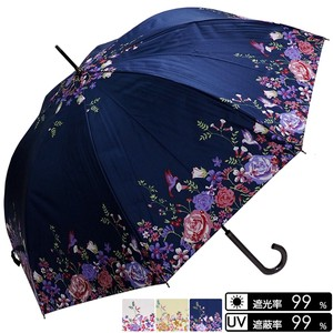 Unisex Humming Bird One push Umbrellas UV Cut