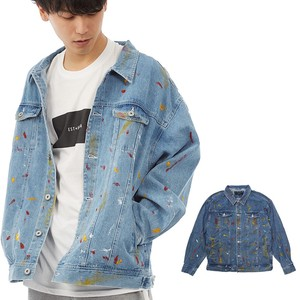 S/S Men's pen Processing Big Denim Jacket Over