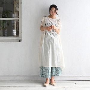 One-piece Dress harvest Embroidery