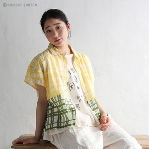 Blouse Combi Checkered