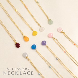 1 Pc Around Quality Natural stone Jewel Necklace 10 Pcs Assort Lucky Bag
