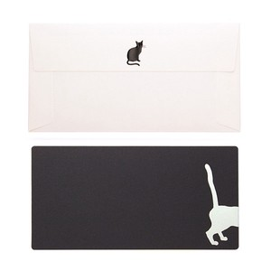 Rectangle Card Envelope Cat