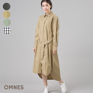 Typewriter Big Long Shirt One-piece Dress
