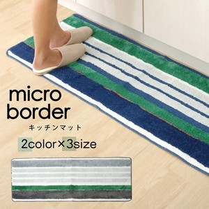 [2019NewItem] Kitchen Mat Micro fiber Washable Micro Border