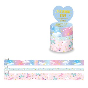 Washi Tape Assort Foil Stamping