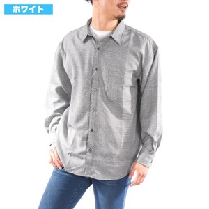 [2019NewItem] Checkered Shirt Long Sleeve Big Silhouette Big Checkered