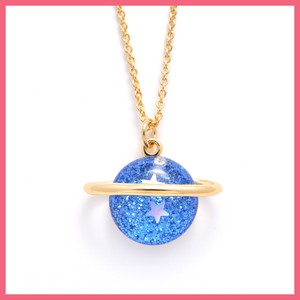 Star lame Planet Necklace