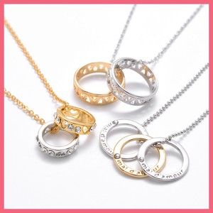 Ring Motif Necklace