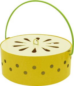 Fruit Mosquito Coil Stand Lemon