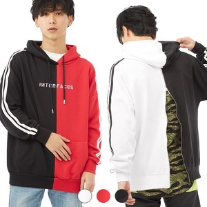 S/S Men's Docking Line Bag Big Hoody