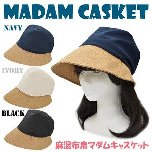S/S Fabric Casquette Countermeasure Adjustment Attached