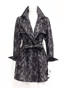 Lace Dress Trench Coat