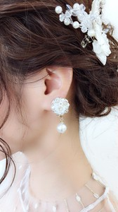 Flower Bouquet Earring Cage
