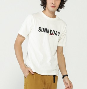 SUN Print Embroidery T-shirt