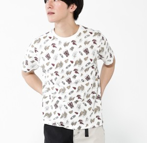 Repeating Pattern Print Short Sleeve T-shirt