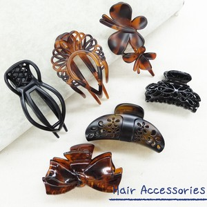 [2019NewItem] Tortoiseshell Hair Clip Set of Assorted