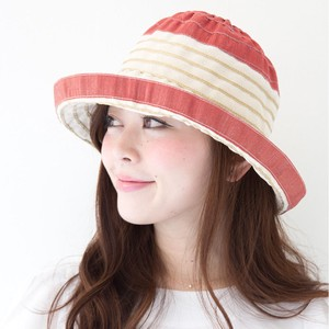 Ladies Border Cotton Linen Hat