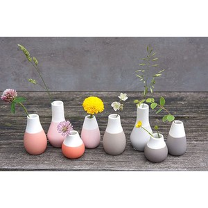 Mini Pastel Vase Set Of 4pcs