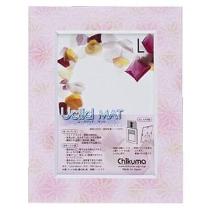 Paper Photoframe Uclid Mat Yuzen For 3 5 X 5 Print Asayume Shirohana