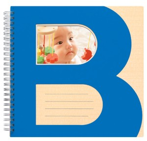 Bookring Album for Kids 8 pages  Blue
