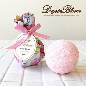芳醇な花のアロマ香るバスボム【入浴剤】
