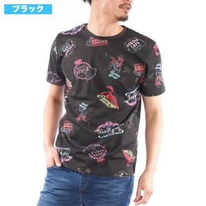 [2019NewItem] Aloha T-shirt Repeating Pattern Print Neon