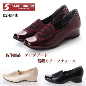 [2019NewItem] Rose Motif Comfort Pumps