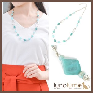 Turquoise Necklace Silver Metal Ladies Turquoise Blue Casual