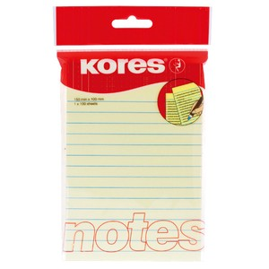 Yellow Notebook Sticky Note