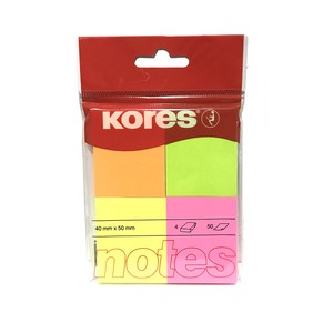 4 Colors Multi-Color Sticky Note