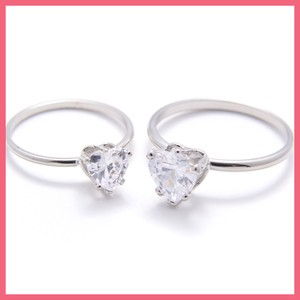 Heart Cubic Ring